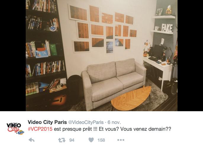 Video City Paris De La Vraie Chambre Au Faux Studio Le Boudoir